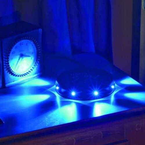 Veilleuse à placer sous le lit - Une lumière rassurante au ras du sol. Halo Light ® - UFO
