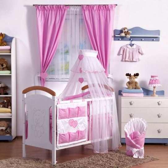 ensemble-de-linge-de-lit-bebe-140x70-13-pcs-rose