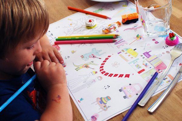 activités manuelles enfant coloriage