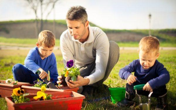 activités manuelles enfant jardiner